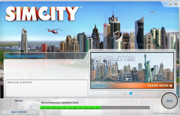 EA Games SimCity Origin